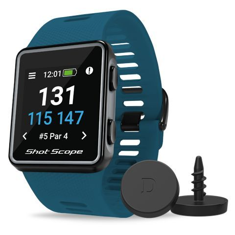 Shot Scope V3 GPS Golf Watch and Game Tracker Teal