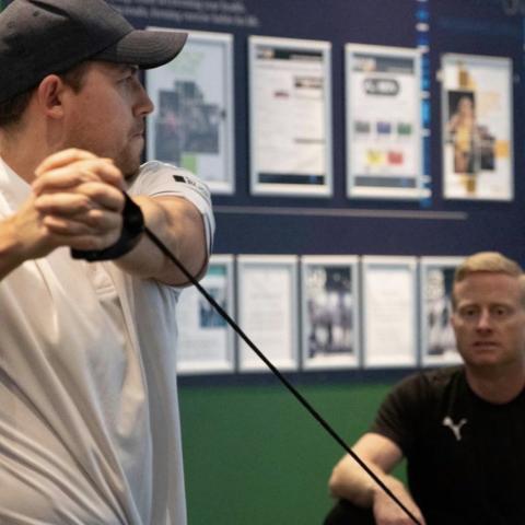 Elite Golf Performance Training Half Day for 2 Golfers