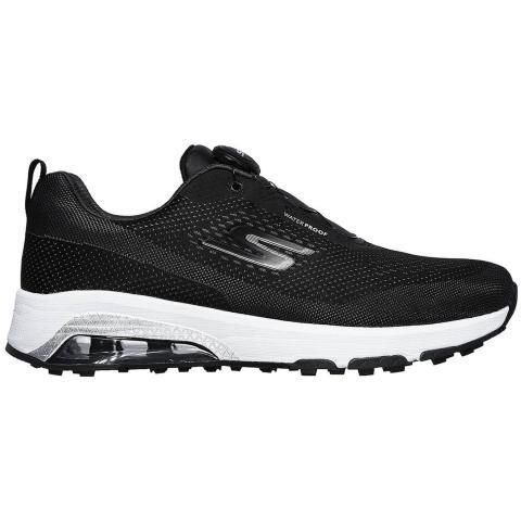 Skechers GO GOLF Skech-Air Twist Golf Shoes Black/White