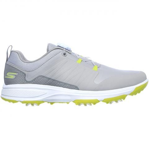 Skechers GO GOLF Torque Twist Golf Shoes Grey/Lime