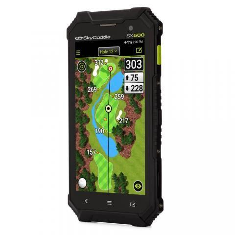 SkyCaddie SX500 GPS Rangefinder with Free 1 Year Birdie Membership Plan