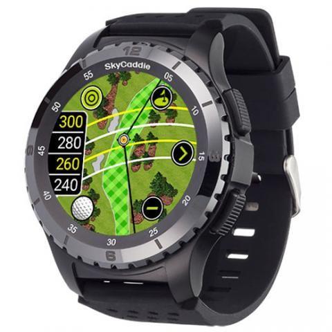 SkyCaddie LX5C GPS Golf Watch with Ceramic Bezel Next Generation Smart Watch