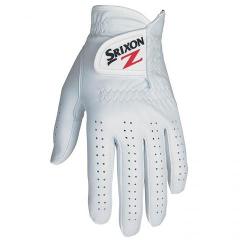 Srixon Cabretta Leather Golf Glove Right or Left Handed Golfer / White