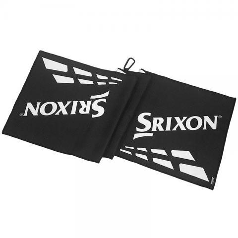 Srixon Tour Golf Towel Black/White