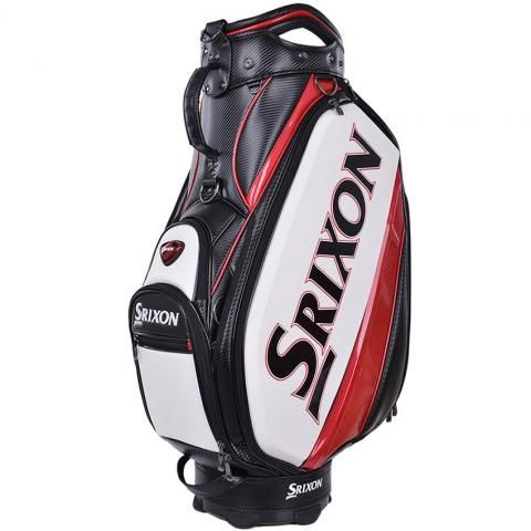 Srixon Golf Tour Staff Bag White/Black/Red