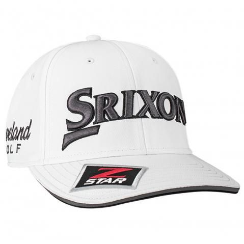 Srixon Tour Staff Adjustable Baseball Cap White/Grey