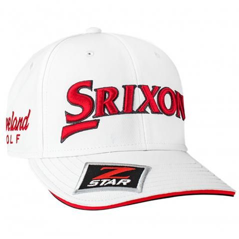 Srixon Tour Staff Adjustable Baseball Cap White/Red