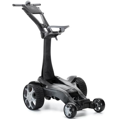 Stewart Q Follow Electric Golf Trolley Black Carbon / Lithium Battery