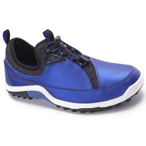 stuburt sport pro fit golf shoes royal blue black