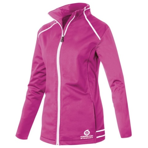 Sunderland Annapurna Ladies Bonded Fleece Magenta/White