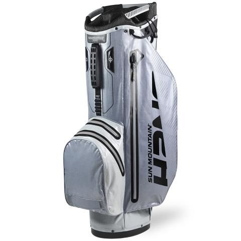 Sun Mountain 2020 H2NO Superlite Waterproof Golf Cart Bag Cadet/Nickel