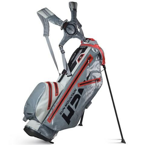 Sun Mountain 2020 H2NO Lite Waterproof Golf Stand Bag