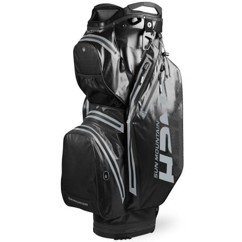 Sun Mountain 2020 H2NO Staff Cart Waterproof Golf Cart Bag Black