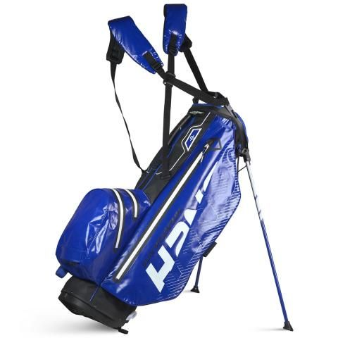 Sun Mountain 2020 H2NO Superlite Waterproof Golf Stand Bag Black/Blue/White