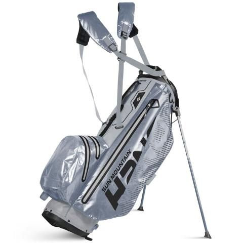 Sun Mountain 2020 H2NO Superlite Waterproof Golf Stand Bag Cadet/Nickel