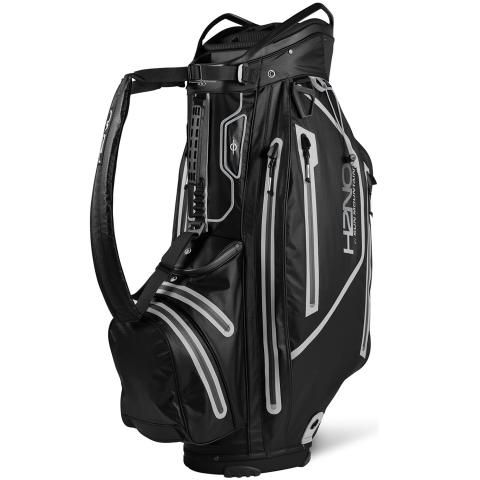Sun Mountain 2021 H2NO Elite Waterproof Golf Cart Bag Black