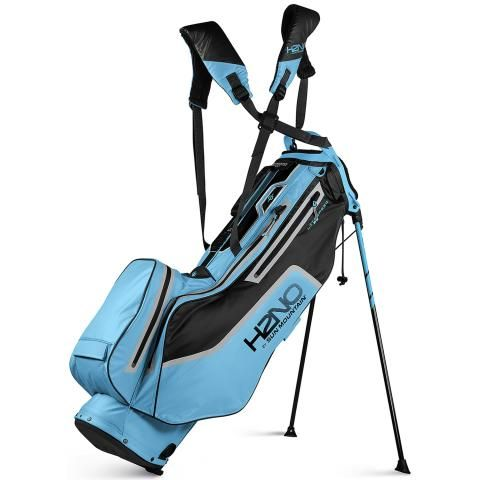 Sun Mountain 2021 H2NO Litespeed Waterproof Golf Stand Bag Alpine/Black/Cadet