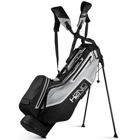 Sun Mountain 2021 H2NO Litespeed Waterproof Golf Stand Bag Black/Grey/White