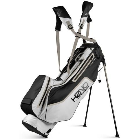 Sun Mountain 2021 H2NO Litespeed Waterproof Golf Stand Bag Black/White/Java/Oat