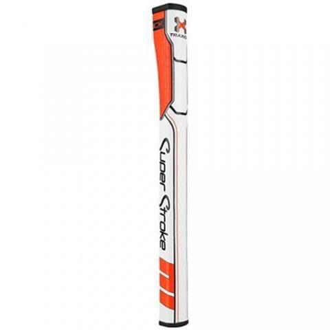 SuperStroke Traxion Wrist Lock Putter Grip Orange/White