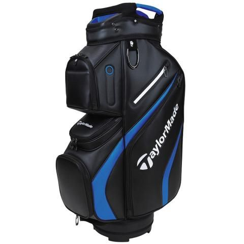 TaylorMade 2021 Deluxe Golf Cart Bag Black/Blue