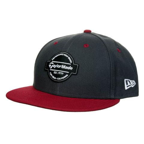 TaylorMade New Era Tour 9Fifty Snapback Cap Graphite Burgundy ... eb76fce8cf7