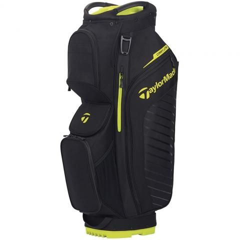 TaylorMade 2020 Cart Lite Golf Cart Bag Black/Neon Lime