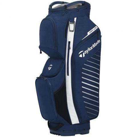 TaylorMade 2020 Cart Lite Golf Cart Bag Navy Flag/White