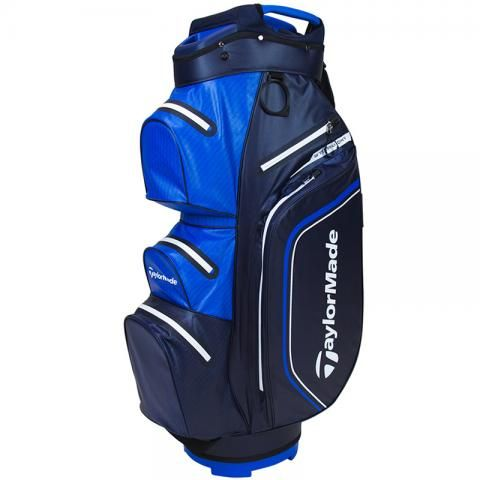 TaylorMade 2021 Storm Dry Waterproof Golf Cart Bag Navy/Blue