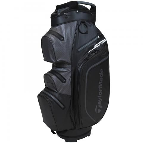 TaylorMade 2021 Storm Dry Waterproof Golf Cart Bag Black/Charcoal
