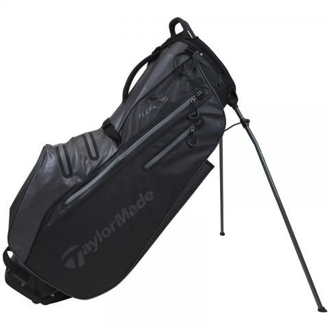 TaylorMade 2021 Flextech Waterproof Golf Stand Bag Black/Charcoal