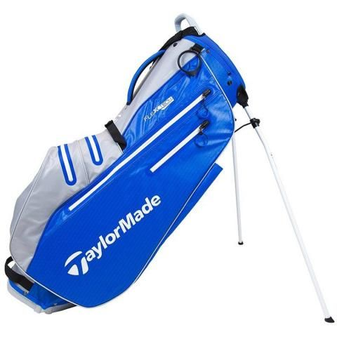 TaylorMade 2021 Flextech Waterproof Golf Stand Bag Royal/Silver