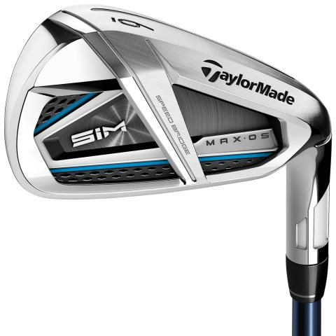 TaylorMade SIM MAX OS Golf Irons Graphite