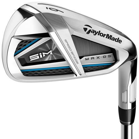 TaylorMade SIM MAX OS Golf Irons Steel