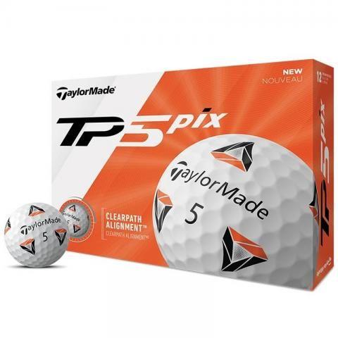 TaylorMade TP5 Pix Golf Balls White / Dozen