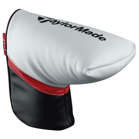 TaylorMade Putter Headcover Black/White/Red