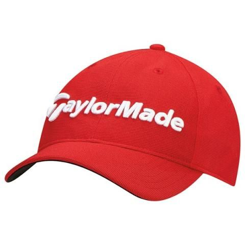 TaylorMade Junior Radar Baseball Cap Red