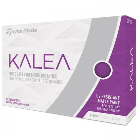 TaylorMade Kalea Ladies Golf Balls Matte Purple / Dozen