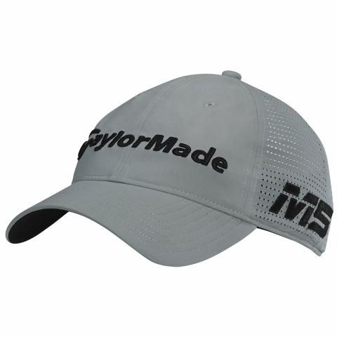TaylorMade Litetech Tour Adjustable Baseball Cap Charcoal