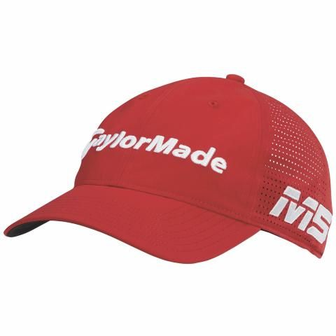 TaylorMade Litetech Tour Adjustable Baseball Cap Red