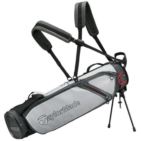 TaylorMade 2020 Quiver Golf Pencil Stand Bag Grey/White