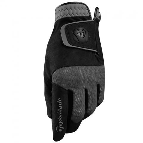 TaylorMade Rain Control Wet Weather Golf Gloves Right or Left Handed Golfer / Black