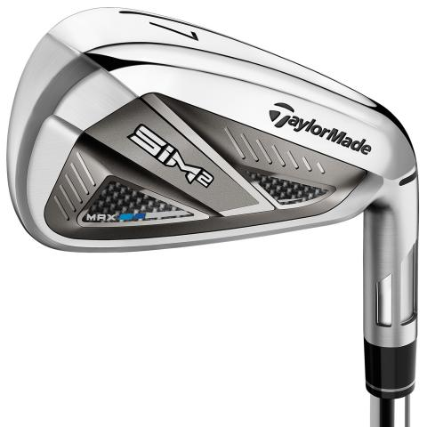 TaylorMade SIM 2 MAX Golf Irons Steel Mens / Right or Left Handed