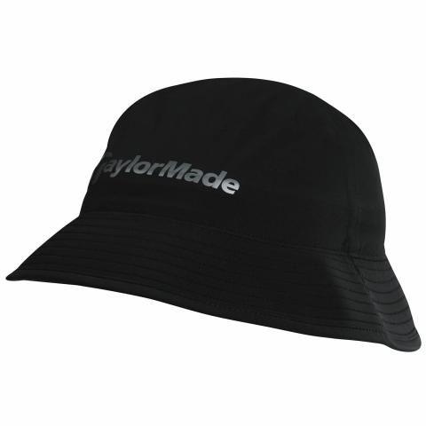 TaylorMade Storm Waterproof Golf Bucket Hat Black