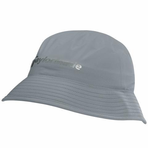TaylorMade Storm Waterproof Golf Bucket Hat Grey