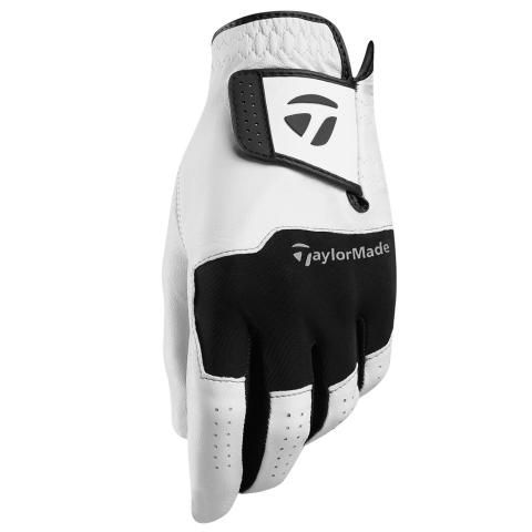 TaylorMade Stratus Leather Golf Glove Right or Left Handed Golfer / White