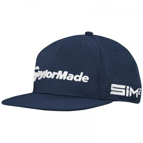 TaylorMade 2021 Tour Flat Bill Baseball Cap