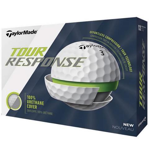 TaylorMade Tour Response Golf Balls White / Dozen
