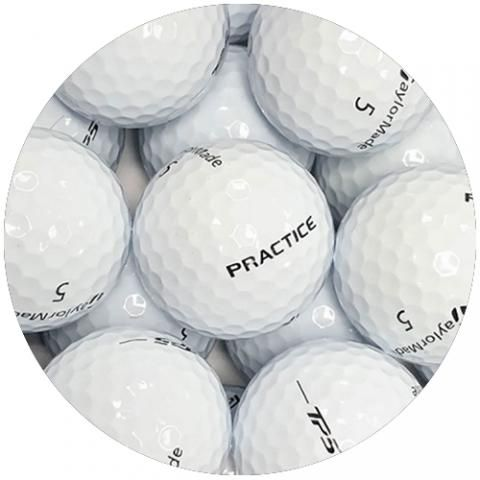 TaylorMade TP5X Practice Golf Balls White / Dozen