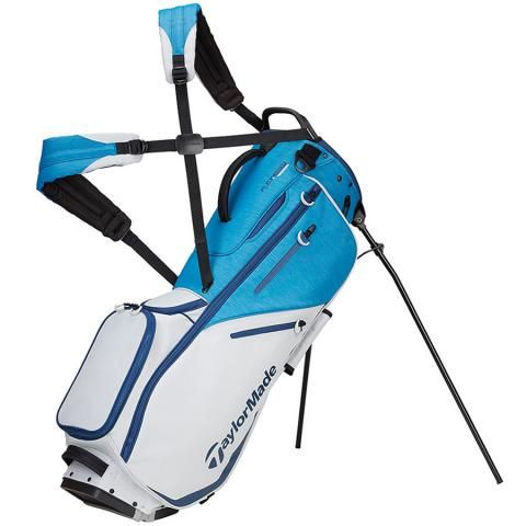 TaylorMade 2020 Flextech Golf Stand Bag Staff Blue